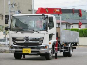 日野 ヒノレンジャー 7.1t 増トン 5段ラジコンフックインクレーン