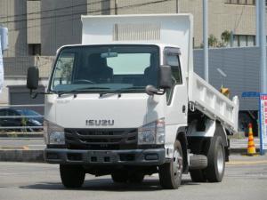 いすゞ エルフトラック 2.95t 4WD 全低床 強化ダンプ