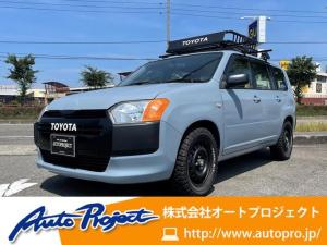 トヨタ プロボックス DXコンフォート 15インチブロックタイヤ/ルーフキャリア/ETC/キーレス/トヨタグリル