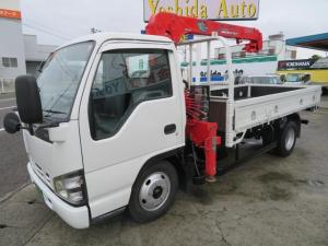 いすゞ エルフトラック  4.8D 2t クレーン車