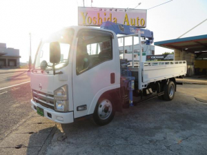 日産 アトラストラック  3.0D 2.7t 3段クレーン