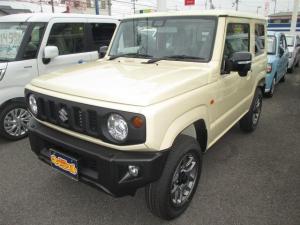 スズキ ジムニー XC 届出済未使用車 4WD AT  デュアルセンサーブレーキ クルーズコントロール LEDライト 16アルミ