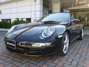 ポルシェ 911 911カレラ ティプトロS 黒革 左ハンドル シートヒーター