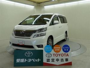 トヨタ ヴェルファイア 2.4Z プラチナセレクションII バックモニター ETC