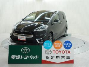 トヨタ シエンタ G メモリーナビ フルセグTV バックモニター スマートキ-