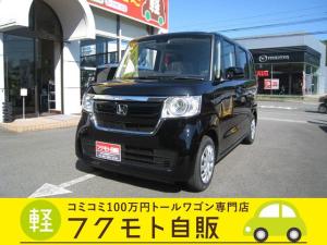 ホンダ N-BOX Gホンダセンシング BT付ナビ・Bカメラ・ETC・LEDライト付