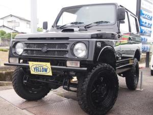 スズキ ジムニー 4WD 3インチリフトアップ公認 MTタイヤ4本新品 ターボ