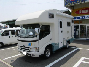 トヨタ カムロード バンテック ソーラーパネル FFヒーター