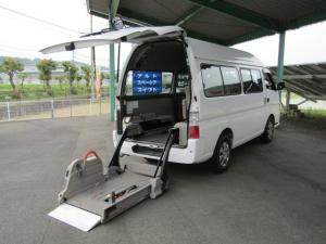 日産 キャラバンバス スーパーロングGX 車いす移動車 10人