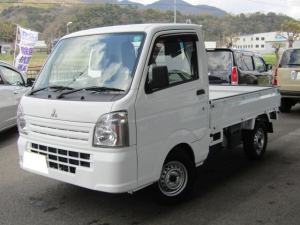 三菱 ミニキャブトラック みのり 5MT・社外ナビ・地デジ・デフロック・4WD