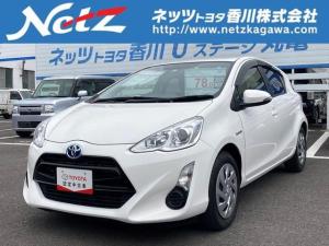 トヨタ アクア S ETC キーレスエントリー CDチューナ- アイドリングストップ