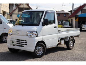 三菱 ミニキャブトラック Vタイプ 4WD・5速ミッション・エアコン・パワステ