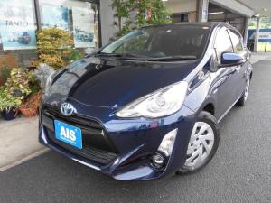 トヨタ アクア Sスタイルブラック 【車検5年8月】トヨタセフティー