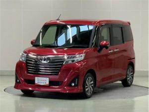 トヨタ ルーミー カスタムG S スマートキ- メモリーナビ ワンセグ ETC