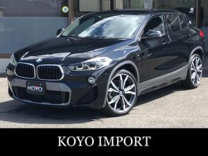 BMW X2 xDrive 20i MスポーツX デビューPKG ハイラインPKG ブラウンレザーシート アクティブクルーズ ヘッドアップディスプレイ OP20インチAW Mリヤスポイラー アンビエントライト フットオープンリヤゲート PDC