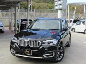 BMW X5 xDrive 35d xラインパノラマSR黒本革PWシート