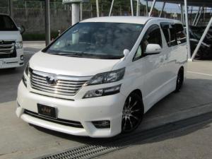 トヨタ ヴェルファイア 2.4ZプラチナムGANADORマフラーTANABE車高調
