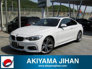 BMW 4シリーズ 420iクーペ Mスポーツ 純正HDDナビ CD/DVD/BT ミラー一体型ETC HUD インテリジェントセーフティ バックカメラ OP19インチアルミホイール スマートキー サンルーフ