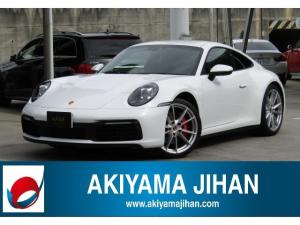 ポルシェ 911 911カレラS スポーツクロノPKG/レザーインテリアPKG/パノラミックビューモニター/電動リアウイング/障害物センサー/シートヒーター/電動格納ミラー/フォグLEDライト/LEDヘッドライト/スマートキー