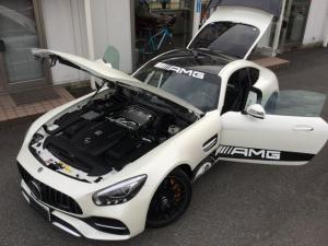 メルセデスAMG GT S AMGダイナミックパッケージプラス AMGインテリアカーボンパッケージ カーボンブレーキ&カーボンウイング&カーボンコンビステアリング OPカーボンセラミックブレーキ  ディーラー車検