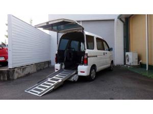 ダイハツ アトレーワゴン 福祉車両 リアスロープ 電動ウインチ 車いす