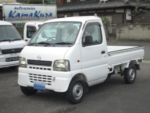マツダ スクラムトラック 4WD 5速 エアコン パワステ