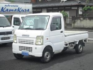 スズキ キャリイトラック KC 4WDHi/Lo切替 5速 エアコン パワステ