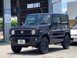 スズキ ジムニー XL 5速MT 8インチナビ バックカメラ ETC セーフティサポート パートタイム4WD フルセグTV DVD再生 Bluetooth 背面タイヤ オートライト シートヒーター プッシュスタート