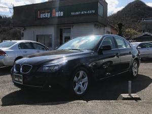 BMW 5シリーズ 525iハイラインパッケージ 純正ナビ 本革シート キセノン
