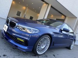 BMWアルピナ B5 ビターボ リムジン オールラッド 右ハンドル ホワイトレザー アルピナブルー デコライン 最高巡行速度330Km/h