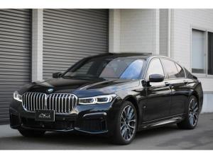 BMW 7シリーズ 740d xDrive Mスポーツ BMW 740d xDrive Mスポーツ コニャックレザー内装 ブラックサファイアメタリック ベンチレーションシート ディスプレイキー ACC コンフォートアクセス ハーマンカードン