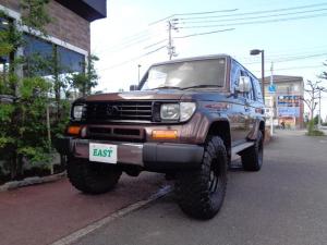 トヨタ ランドクルーザープラド  サンルーフ 4WD リフトアップ 社外ホイール 社外ステアリング