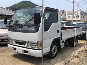 いすゞ エルフトラック 平ボデイ ディーゼル オートマ ETC