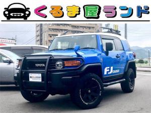 トヨタ FJクルーザー ベースグレード グリルガード フルセグTVナビ ドラレコ