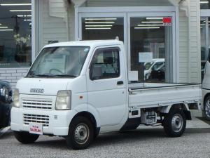 スズキ キャリイトラック KU パワステ 3方開 2WD 5MT エアコン 記録簿