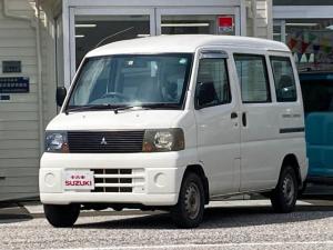 三菱 ミニキャブバン CD ハイルーフ 4WD 5MT エアコン パワステ 記録簿 ワンオーナー