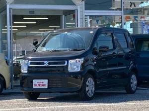 スズキ ワゴンR ハイブリッドFX セーフティパッケージ装着車 ナビ フルセグ Bカメラ 記録簿 1オ-ナ-