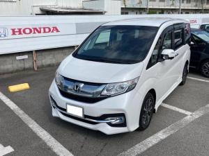 ホンダ ステップワゴンスパーダ スパーダ Honda SENSING メモリーナビ 地デジ Bluetooth接続 DVD再生 バックカメラ ETC LEDヘッドライト クルーズコントロール