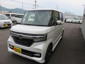 ホンダ N-BOXカスタム G・Lホンダセンシング 運転席・助手席シートヒーター ETC