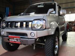 スズキ ジムニーシエラ ランドベンチャー 4WD キーレスエントリー 社外アルミ