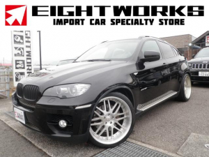 BMW X6 xDrive 50i KW車高調 ハイパーフォージド22AW