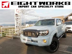 米国トヨタ タコマ Wキャブ 4.0 リフトアップ