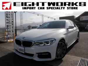 BMW 5シリーズ 523d Mスポーツ 1オーナー サンルーフ 取説・保証書・スペアキー ドラレコ
