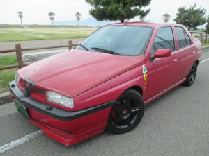 アルファロメオ アルファ155 2.0 ツインスパーク 16V ファイナルED ディーラー車 500台限定