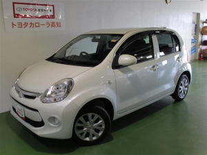 トヨタ パッソ X Lパッケージ・キリリ メモリーナビ ワンセグ