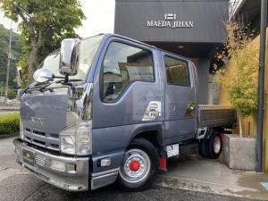 いすゞ エルフトラック Wキャブ 全塗装済・メッキパーツ・アルミパーツ