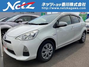 トヨタ アクア S メモリーナビ ワンセグTV キーレス ETC CD