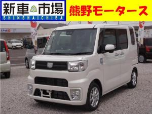 ダイハツ ウェイク LSAIII・新車・ナビ付き・ETC・コーティング・マット付