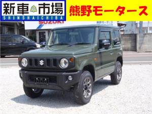 スズキ ジムニー XC・新車・ナビ付き・ETC・コーティング・マット・バイザ付
