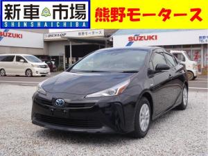 トヨタ プリウス S・ナビ付き・新車・ETC・コーティング・希望ナンバ-付き